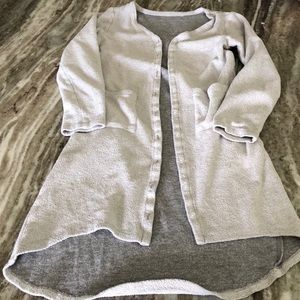 Grey girls sweatshirt